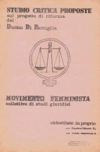 volantino collettivo  Pompeo Magno herstory  luoghi donne gruppi lesbiche femminismo Roma archivia