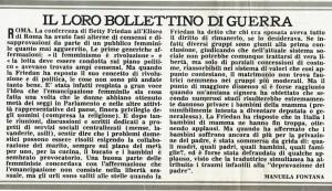 conferenza friedan  Pompeo Magno herstory  luoghi donne gruppi lesbiche femminismo Roma archivia