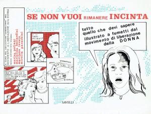 manuale contraccettivi Movimento Liberazione della Donna archivia herstory  femminismo Roma