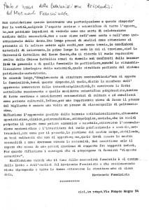 incontro Movimento collettivo  Pompeo Magno herstory  luoghi donne gruppi lesbiche femminismo Roma archivia