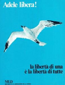 locandina adele faccio aborto Movimento Liberazione della Donna archivia herstory  femminismo Roma