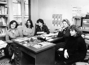 Tribunale 8 marzo fondatrici herstory  femministe  luoghi donne storia collettivi manifestazioni gruppi Roma