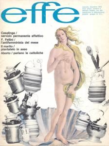 rivista effe herstory  femminismo luoghi donne storia gruppi Roma