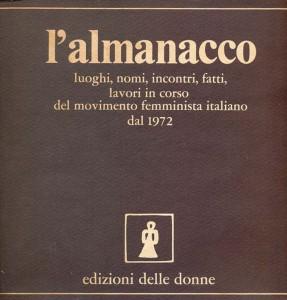 Edizioni delle donne casa editrice almanacco herstory  femministe lesbiche storia gruppi Roma