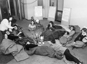 occupazione collettivo XII circoscrizione femminismo herstory  luoghi donne storia gruppi Roma