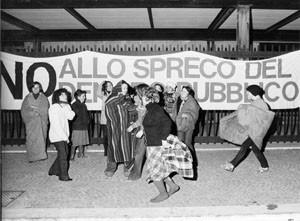 occupazione palazzo poste collettivo XII circoscrizione femminismo herstory  luoghi donne storia gruppi Roma