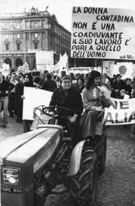 manifestazione diritto famiglia Unione donne italiane herstory  femminismo storia gruppi Roma archivia
