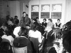 conferenza stampa aborto autodeterminazione Unione donne italiane herstory  femminismo storia gruppi Roma archivia