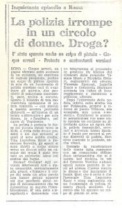lesbiche bar separatismo lesbica herstory  femminismo luoghi donne storia gruppi Roma  articolo