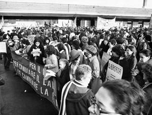 Collettivo femminista donne e politica vecchio herstory  storia gruppi Roma