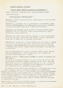 occupazione governo vecchio Movimento Liberazione della Donna archivia herstory  femminismo Roma