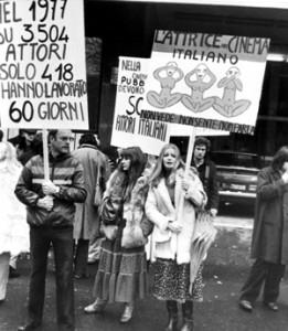 Collettivo attrici Sai manifestazione spettacolo herstory  femminismo luoghi donne storia gruppi Roma