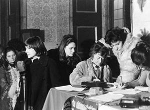 movimento femminismo romano  Pompeo Magno herstory  luoghi donne gruppi lesbiche Roma archivia