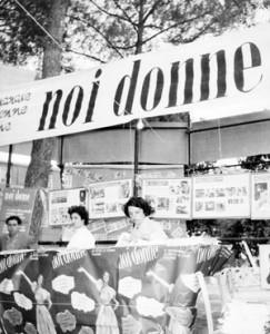 festa unità noidonne herstory archivia femminismo luoghi  storia gruppi Roma donna