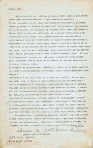 documento pillola antifecondativa casa donna governo vecchio herstory  storia femminismo gruppi Roma