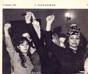 Femministe in rivolta banotti herstory  donne storia collettivi manifestazioni gruppi mappa