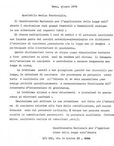 Coordinamento 194 obiezione coscienza volantino herstory  femminismo luoghi donne storia gruppi Roma