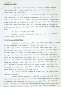 Collettivo Donne e politica documento germanico volantino herstory  femminismo luoghi storia gruppi Roma