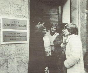 Centro Donna Woman Femme herstory  femminismo luoghi storia gruppi Roma inaugurazione