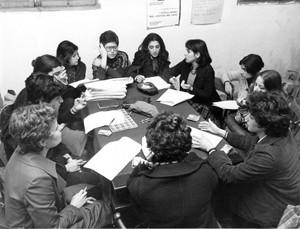 incontro noidonne collettivo femminista zona celio monti herstory  luoghi donne storia gruppi Roma