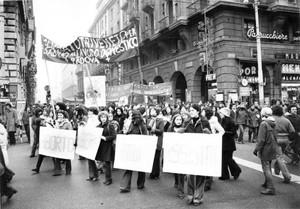 manifestazione Crac Comitato romano liberalizzazione aborto contraccezione herstory  femminismo donne gruppi Roma
