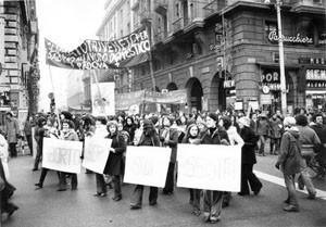 crac manifestazione aborto herstory  femminismo luoghi donne storia gruppi Roma