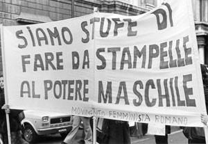 manifestazione crac pompeo magno femminismo herstory  luoghi donne gruppi lesbiche Roma archivia