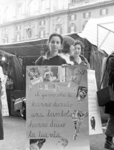 sitin sessismo giocattoli effe herstory  femminismo luoghi donne storia gruppi Roma
