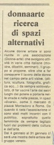 Associazione donna arte quotidiano herstory  femminismo luoghi storia gruppi Roma