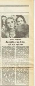 Collettivo Istituto Magistrale Velletri quotidiano donna herstory  femminismo luoghi storia gruppi Roma