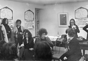 incontro salario lavoro domestico herstory  femminismo luoghi donne storia gruppi Roma