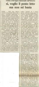 Coordinamento Nazionale 194 quotidiano donna convegno herstory  femminismo luoghi storia gruppi Roma