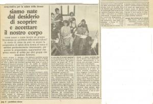 cooperativa salute donna herstory  femminismo gruppi Roma Lazio