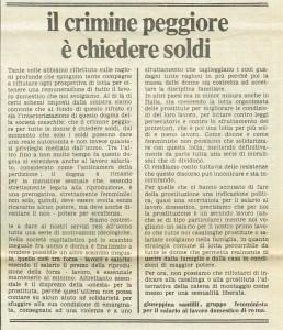 Gruppo femminista salario lavoro domestico herstory  femminismo luoghi quotidiano donna storia gruppi Roma