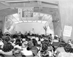 assemblea noi donne  herstory  femminismo luoghi collettivi stampa libera storia gruppi Roma
