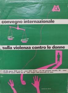 convegno contraccettivi aborto casa donna governo vecchio herstory  storia femminismo gruppi Roma