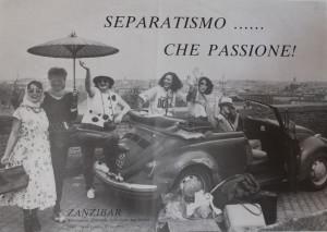 lesbiche bar separatismo lesbica herstory  femminismo luoghi donne storia gruppi Roma