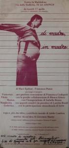 teatro la Maddalena herstory  femminismo luoghi donne storia gruppi Roma 114