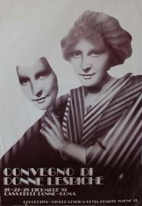 convegno lesbiche casa donna governo vecchio herstory  storia femminismo gruppi Roma