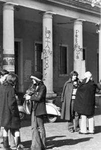 Gruppo femminista Liceo sperimentale Bufalotta herstory  luoghi donne storia gruppi Roma
