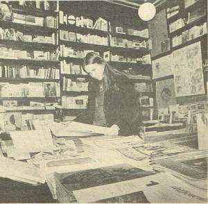 Libreria donne sede herstory  femminismo luoghi storia gruppi Roma