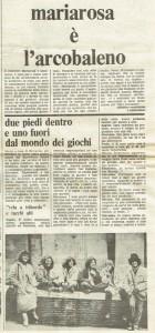 Collettivo studentesse mariarosa è minorenne casa donne herstory  storia gruppi Roma quotidiano donna