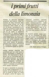 quotidiano donna collettivo femminista piazza bologna herstory  luoghi storia gruppi Roma
