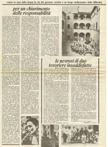 casa donna governo vecchio herstory  storia femminismo gruppi Roma quotidiano donna