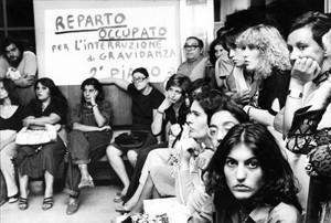 Coordinamento femminista romano lavoratrici Policlinico herstory  femminismo luoghi donne storia gruppi Roma