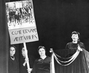 noidonne herstory archivia femminismo luoghi  storia gruppi Roma donna