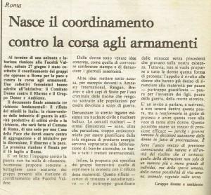 Collettivo donne gruppo articolo herstory  femminismo luoghi storia gruppi Roma
