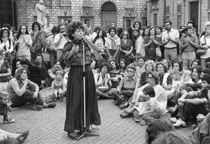 teatro strada decennale  pompeo magno femminismo herstory  luoghi donne gruppi lesbiche Roma archivia