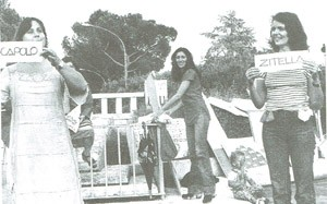 Movimento femminista di Latina performance herstory  luoghi donne storia gruppi Roma