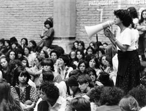 assemblea casa donna governo vecchio herstory  storia femminismo gruppi Roma